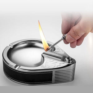 2 IN 1 FIRE STARTER AND ASHTRAY - cabindusk
