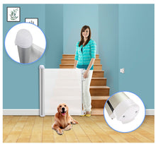 Load image into Gallery viewer, Retractable Safety Gate Portable Kids &Pets Safety Door Guard - cabindusk