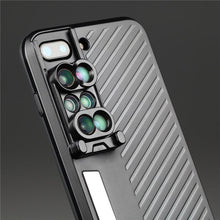 Load image into Gallery viewer, 6 IN 1 CAMERA LENS PHONE CASE - FOR IPHONE CASE - cabindusk