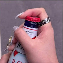Load image into Gallery viewer, Titanium Steel Rotatable Chain Ring Bottle Opener - cabindusk
