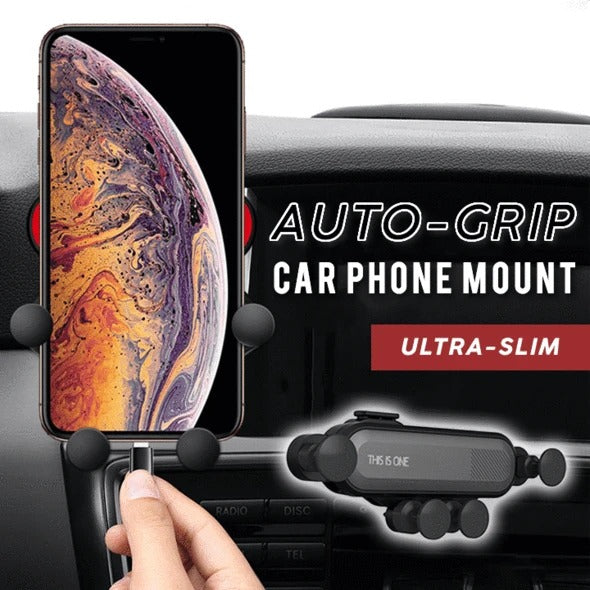 Universal Auto-Grip Car Phone Mount - cabindusk