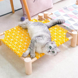 Summer Cat Hammock Bed Pet House - cabindusk