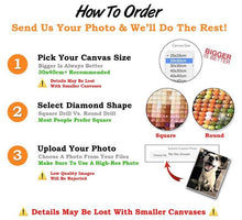 Load image into Gallery viewer, 5D DIY CUSTOM PHOTO DIAMOND PAINTING - cabindusk