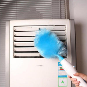 Electric Dust Mites Cleaning Feather Duster(With 3 free extension rods) - Best family assistant - Buy 2 Get 10%OFF & Free Shipping - cabindusk