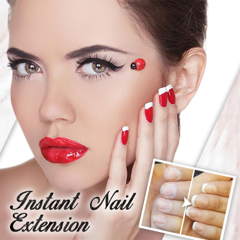 [LAST DAY PROMOTION] Glue-On French Nails Kit - cabindusk