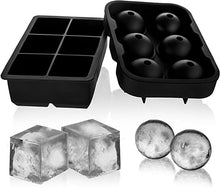 Load image into Gallery viewer, Ice Cube Trays Silicone Set - cabindusk