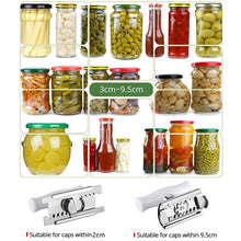 Load image into Gallery viewer, Adjustable Can Opener Jar Opener Stainless Steel - cabindusk