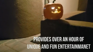 🔥HOT SALE! Halloween Talking Animated Pumpkin with Built-In Projector & Speaker - cabindusk