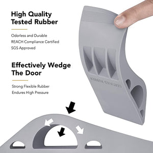 Door Stopper Rubber Door Stop Wedge Security Door Stops - cabindusk