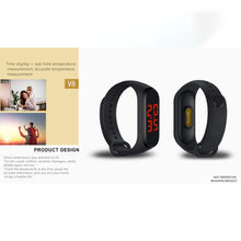 Load image into Gallery viewer, Smart Check Temperature Bracelet Wristband - cabindusk