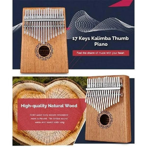 Kalimba 17 Key Thumb Piano - Enjoy the most beautiful sound🎶 - cabindusk