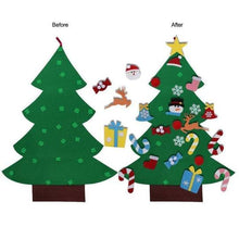 Load image into Gallery viewer, BEST GIFT FOR CHILDREN-DIY FELT CHRISTMAS TREE - cabindusk