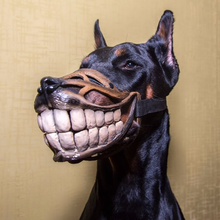 Load image into Gallery viewer, Werewolf & Smile Muzzle - cabindusk