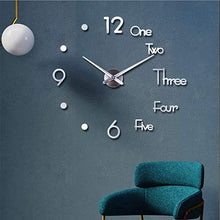 Load image into Gallery viewer, New 3D DIY Acrylic Wall Clock - cabindusk