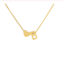 Load image into Gallery viewer, Personalized Initials Necklace - cabindusk