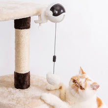 Load image into Gallery viewer, Electric Cat Spring Ball One of Cat's Favorite Toys - cabindusk