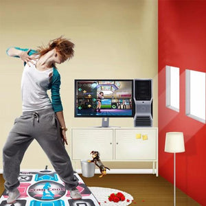 USB Non-Slip Dancing Step Dance Mat Pad Blanket for PC Laptop Video Game - cabindusk