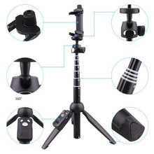 Load image into Gallery viewer, 4 In 1 Tripod Selfie Stick - cabindusk