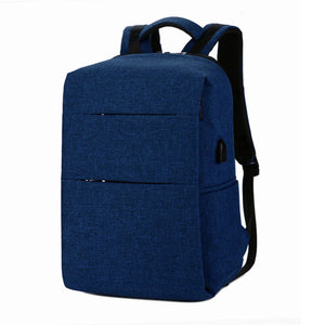 Water Resistant Backpack with USB Charging Port - cabindusk