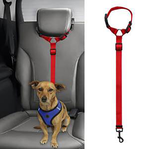 Headrest Dog Car Safety Seat Belt - cabindusk