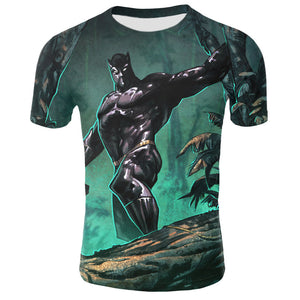 Black Panther Movie | Wakanda Forever Men's T-Shirt - cabindusk
