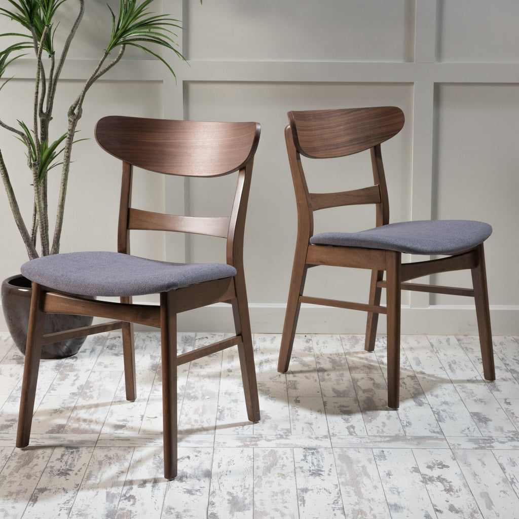 Astounding Helen Mid Century Modern Dining Chair Set Of 2 Ibusinesslaw Wood Chair Design Ideas Ibusinesslaworg