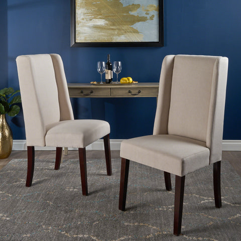 Rory Ivory Fabric Dining Chair (Set of 2)