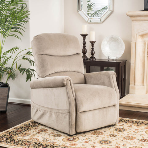Alan Fabric Lift Up Recliner Chair