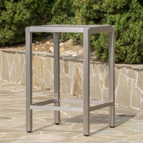 Capral Outdoor Grey Alumnimum Bar Table