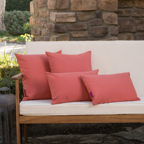Coronado Outdoor Water Resistant Square and Rectangular Throw Pillows (Set of 4)