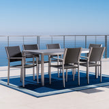 Coral Bay Complete Outdoor Dining Set with Chat Set & Lounges