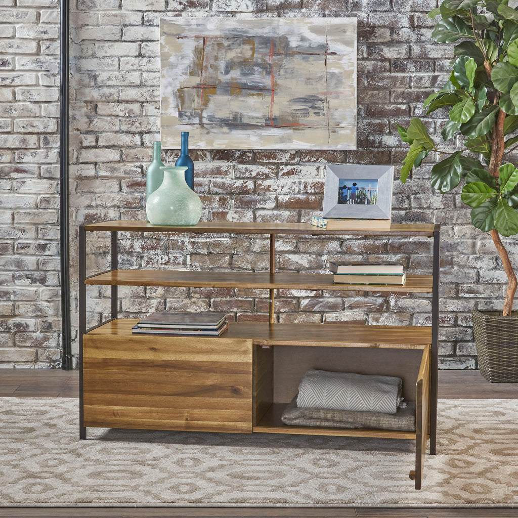 Flossie Shelf & Storage Cabinet Console Table