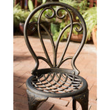 Windsor Dark Gold Cast Aluminum 3-piece Bistro Set
