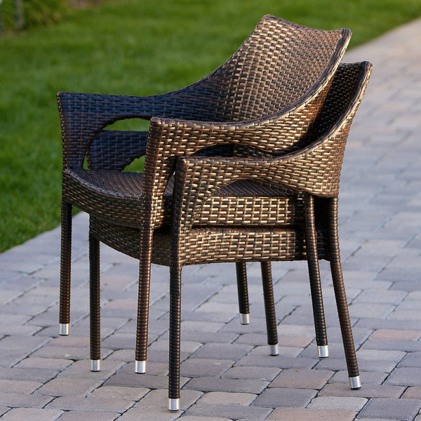 Del Mar 7 Piece Outdoor Dining Set Gdf Studio