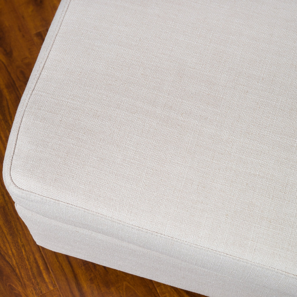 Christabel Fabric Ottoman Footstool