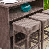 Rudolfo Outdoor 7pc Bar Set