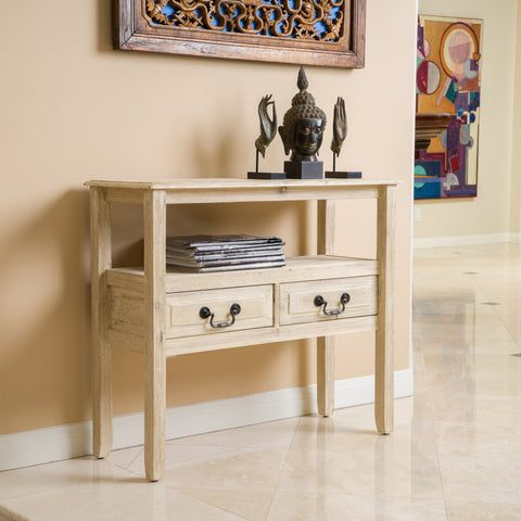 Noah Reclaimed Wood Accent Table