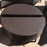 Falkland Outdoor 10pcs Wicker Sofa Sectional Set