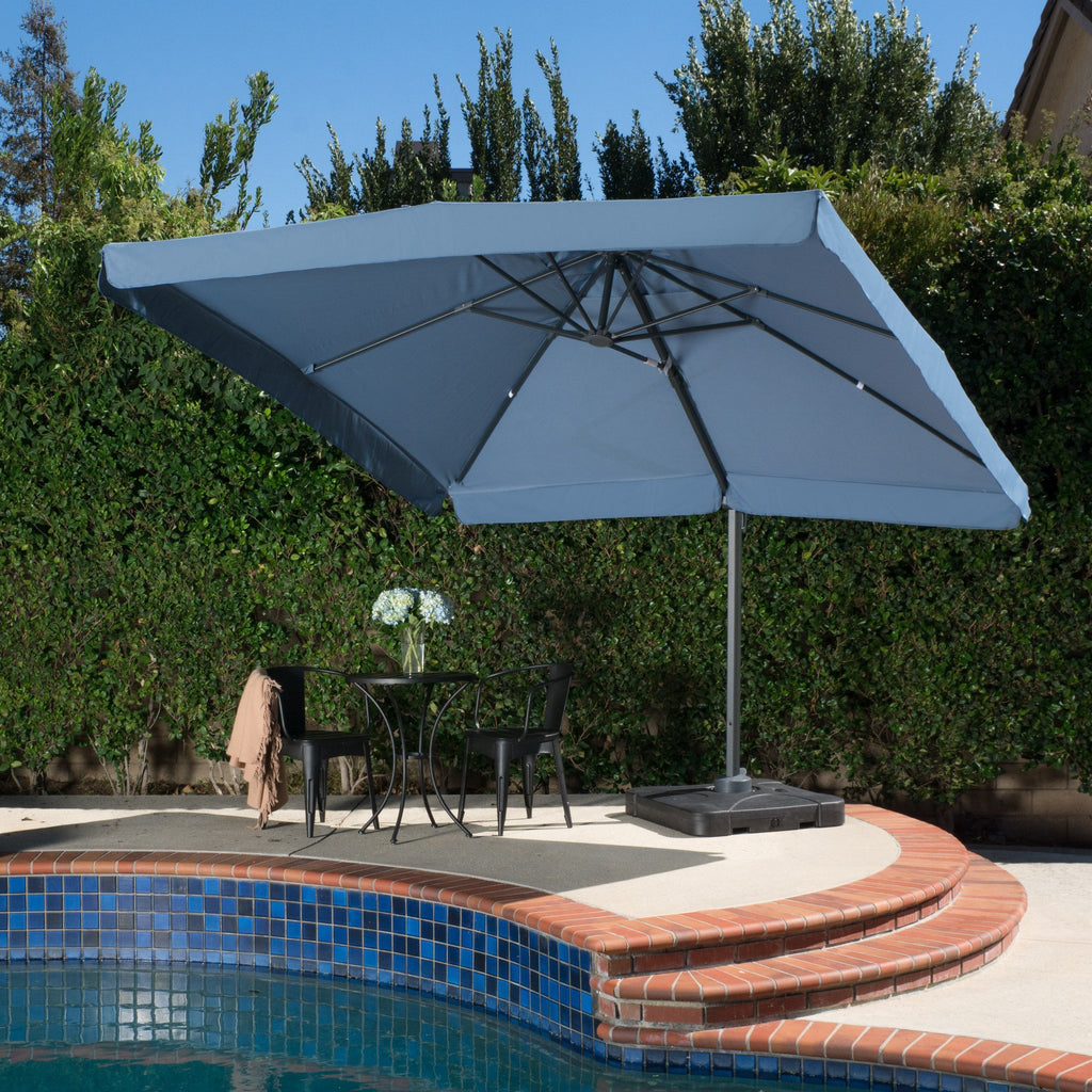 Vivaldi Outdoor 9.8-foot Canopy Umbrella with Base
