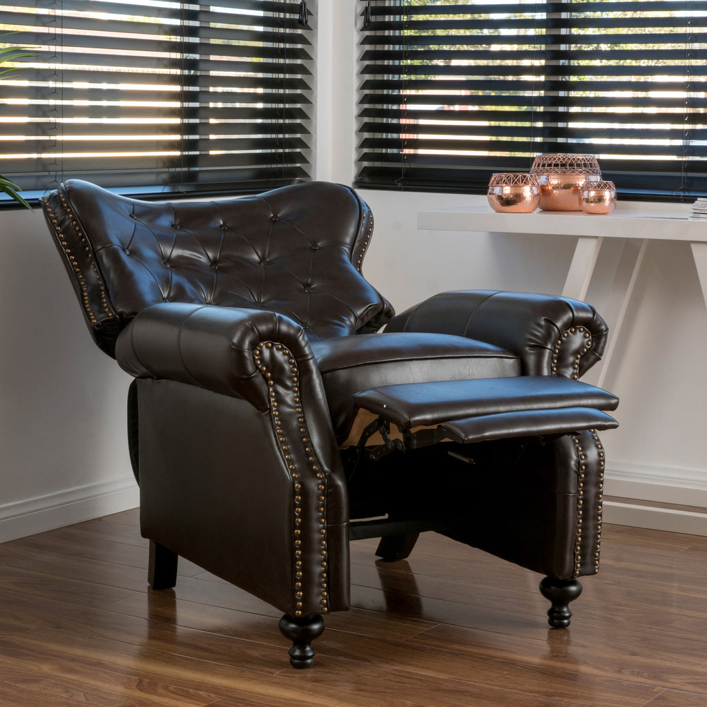 Filton Quilted Leather Counter Stool