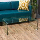 Classon Glass Rectangle Coffee Table