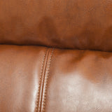 Trenton Hazelnut Brown Leather Recliner