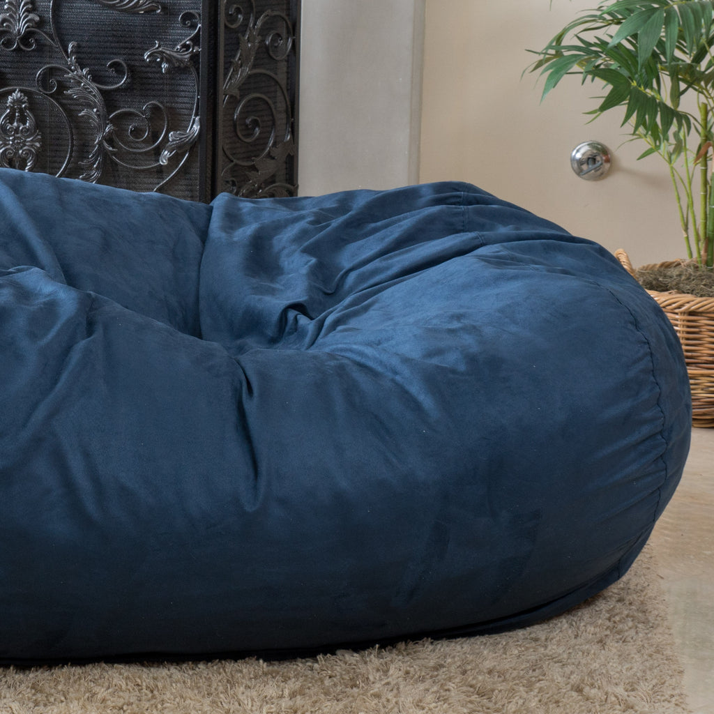 Brynnli Traditional 6.5 Foot Suede Bean Bag (Cover Only)