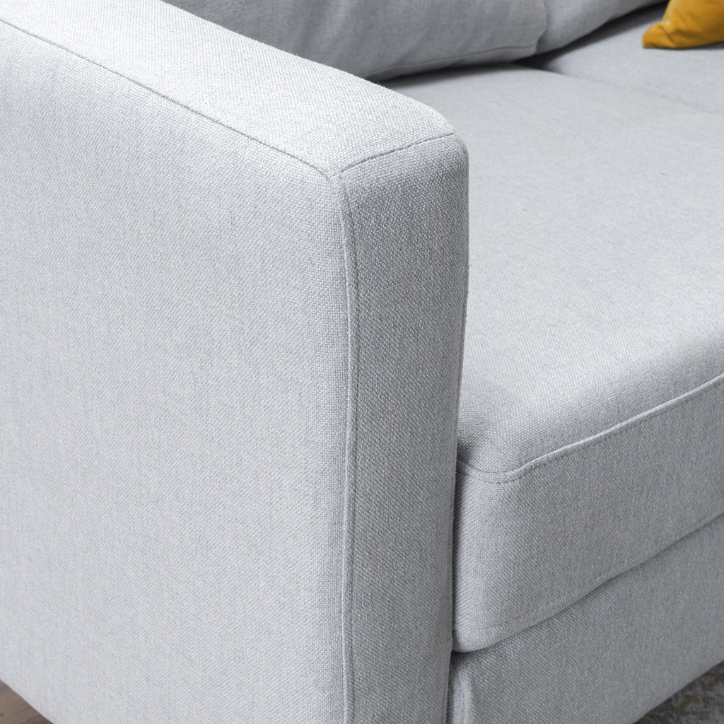 Bridger Fabric Sectional Couch