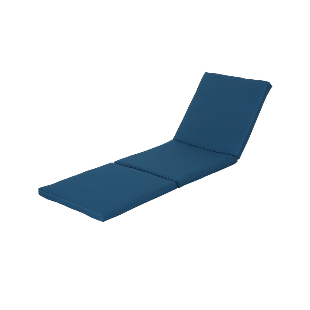 Laraine Outdoor Water Resistant Chaise Lounge Cushion