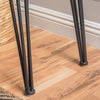 Regent Natural Finish Firwood Faux Live Edge Console Table