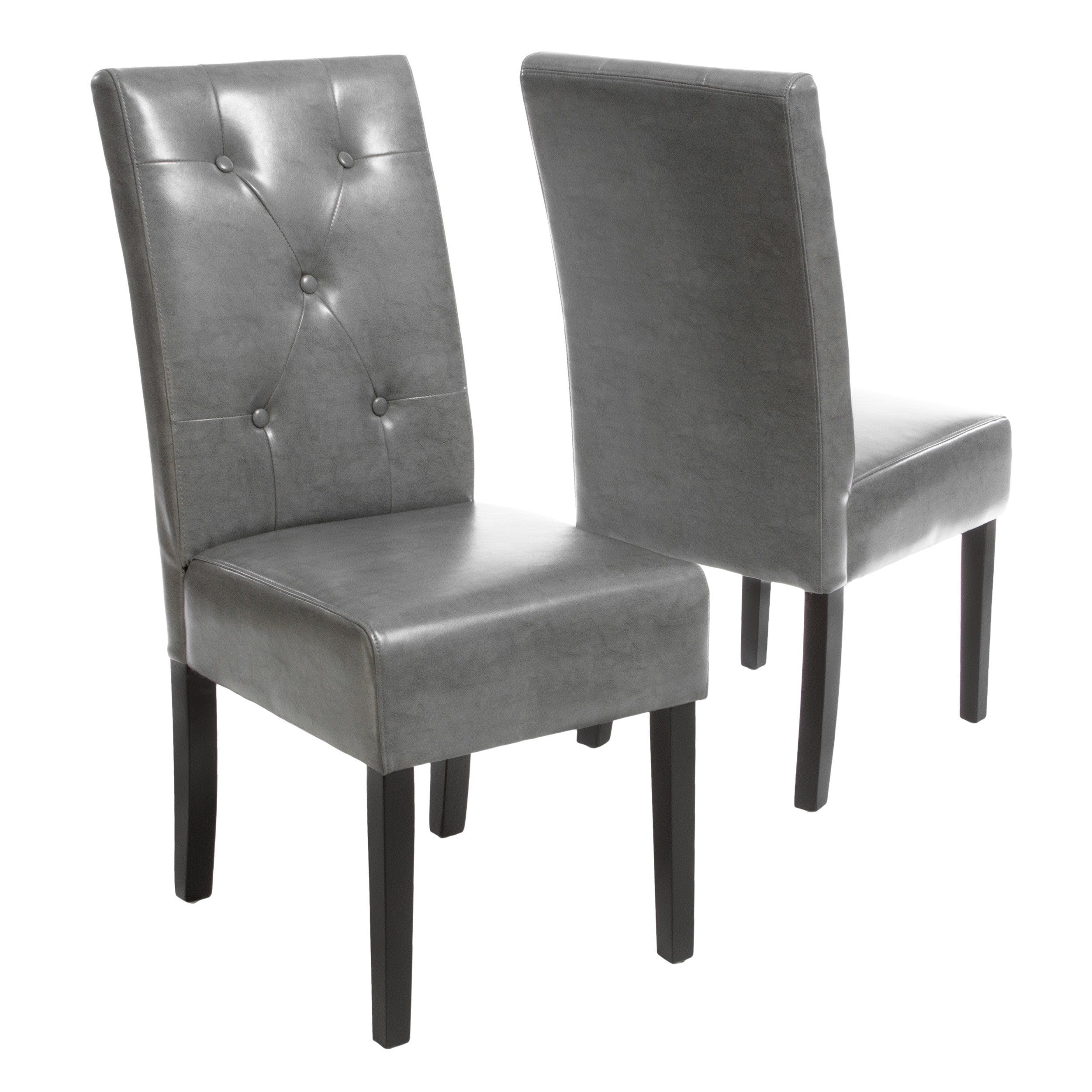 Alexander Bonded Leather Dining Chair Teal Blue