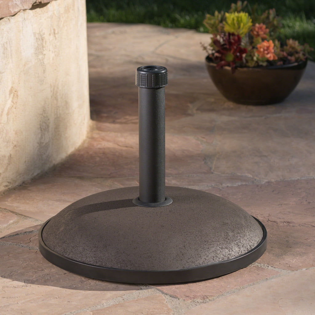 Benton Outdoor 66 lbs Circular Concrete Umbrella Base
