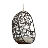 Trevyn Indoor/Outdoor Wicker Hanging Teardrop / Egg Chair (Stand Not Included)