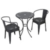 Ansel Childrens Black Table Chat Set